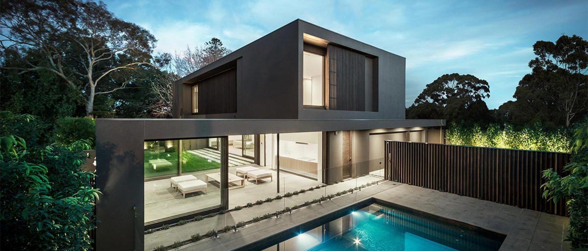 Guaranteed modern home